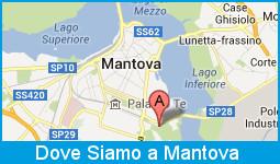 Mappa per arrivare al Villaggio SOS di Mantova